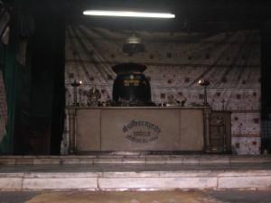 ダルマラージ寺院のご神体