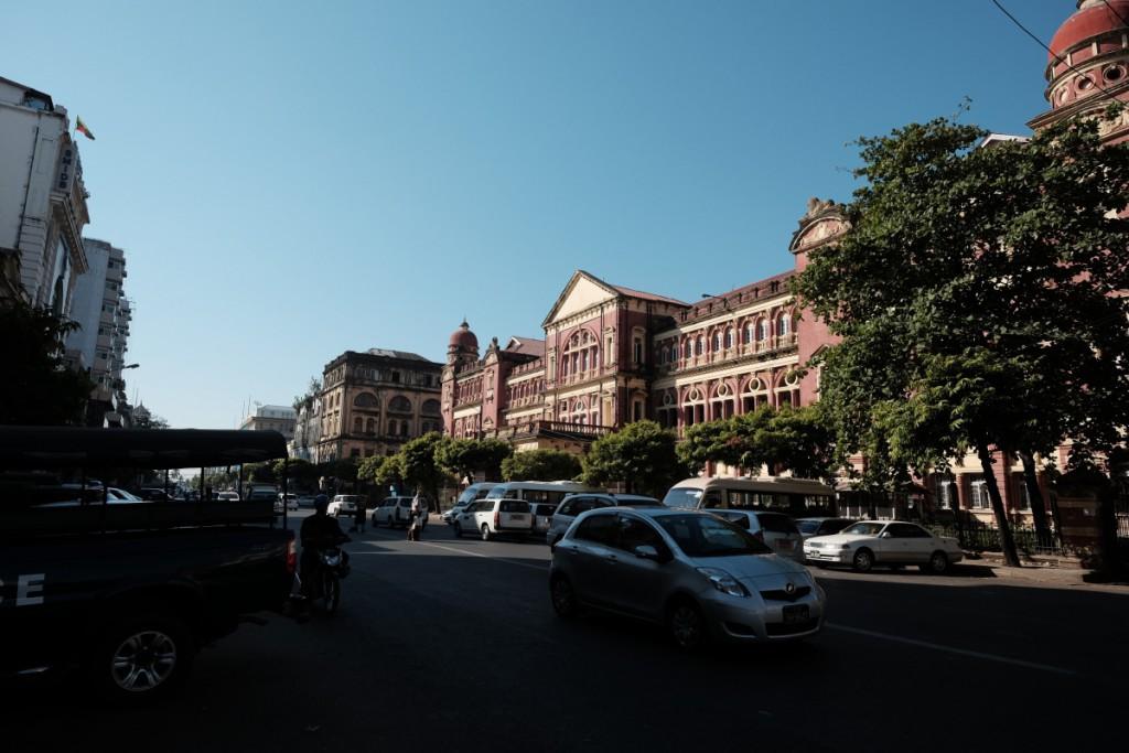 Pansodan Street