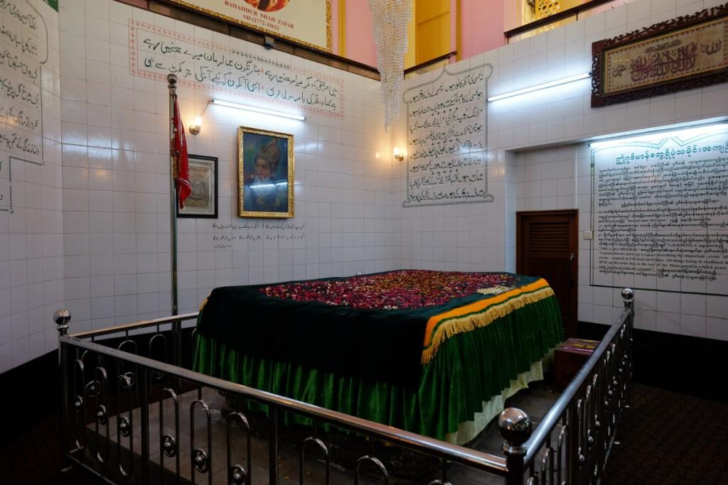 Zafar's Original Grave