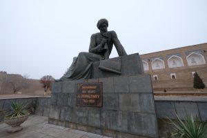 アル・フワーリズミー像