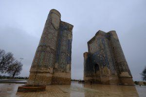 アク・サラーイ宮殿跡