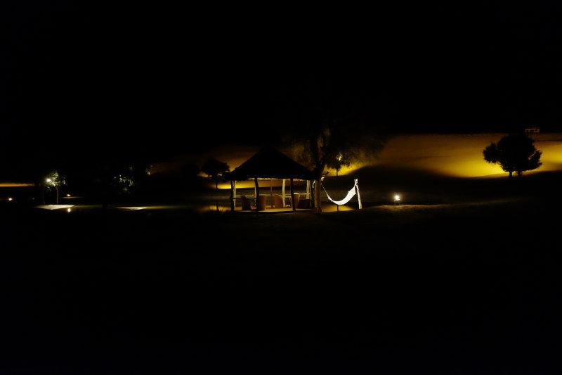 Dune Village in the Night