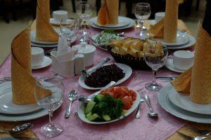食卓の様子