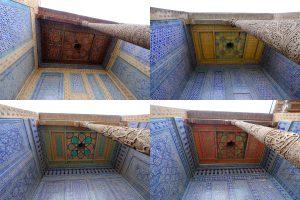 天井の模様