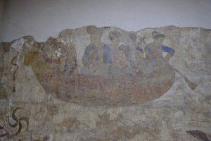 ソグド人の壁画